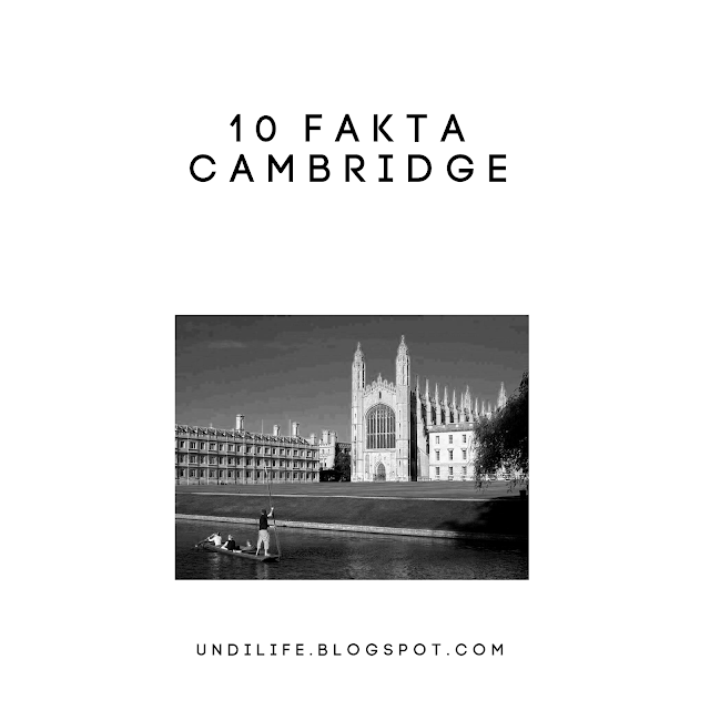 10 fakta kota cambridge