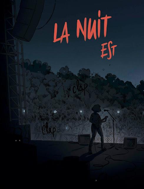La nuit est mon royaume de Claire Fauvel aux éditions Rue de Sèvres page 6