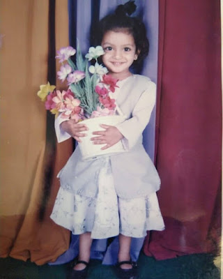 Niriksha Shetty childhood photo