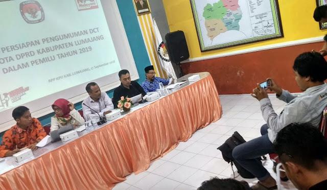 Persiapan Pengumuman DCT DPRD Lumajang