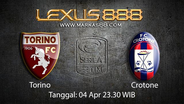 BOLA88 - PREDIKSI TARUHAN BOLA TORINO VS CROTONE 04 APRIL 2018 ( ITALIAN SERIE A )