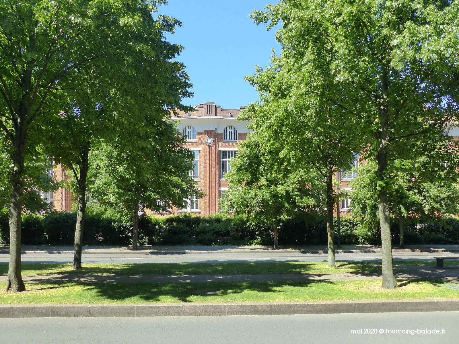Ancien Bureau Central PTT, avenue Hoover, Lille, 2020