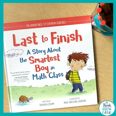 last to finish picture book about testing days for children
