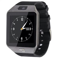 Jual jam tangan Smartwatch U9 / DZ09 - Full black