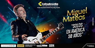 Concierto de MIGUEL MATEOS en Bogotá 2018