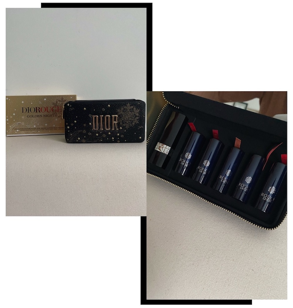 Rouge Dior Golden Nights Lipstick Set 5
