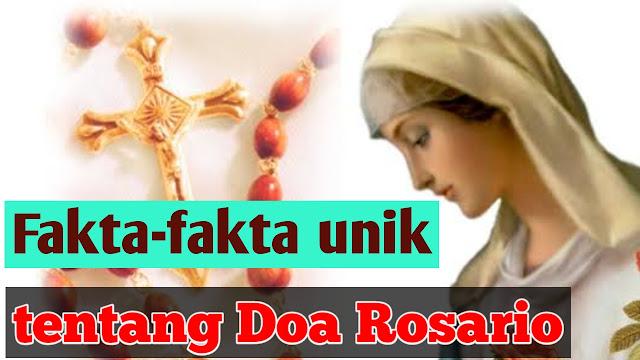 fakta doa rosario yang harus kita tahu