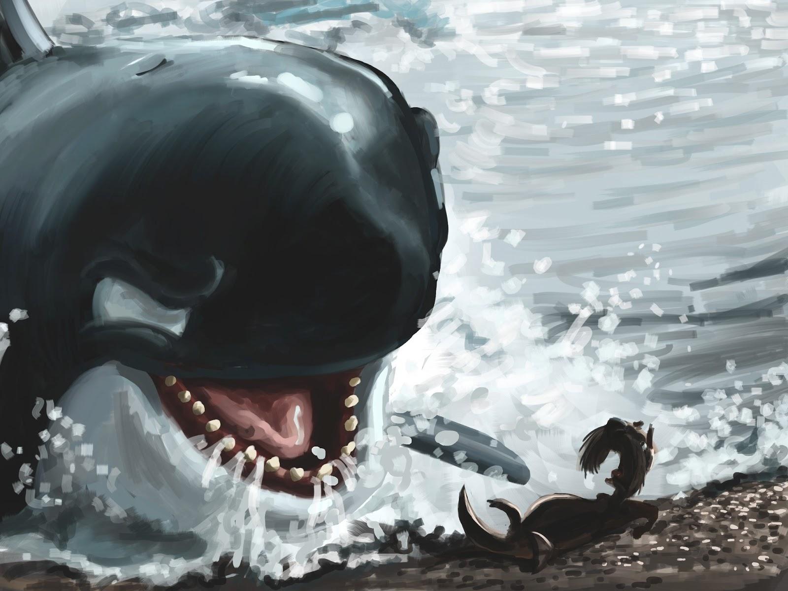 killer whale attacks - HD1600×1200