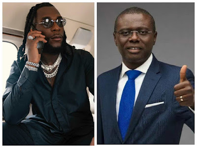 Moment Governor Sanwo-Olu Calls Burna Boy To Congratulate Him Over Grammy Win (VIDEO)
