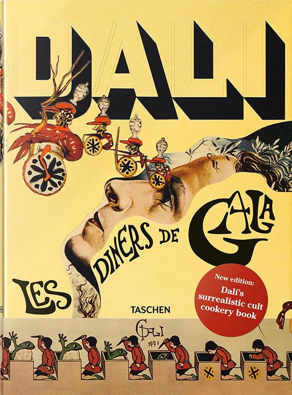 Raro libro de cocina surrealista de Salvador Dalí republicado por 1ª vez en mas de 40 años
