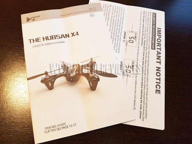 Cómo conseguir el Hubsan X4 H107C con manual en español