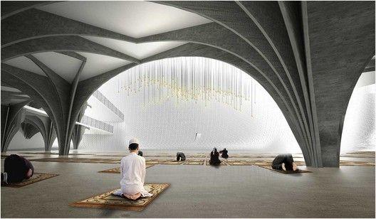 inspirasi desain masjid