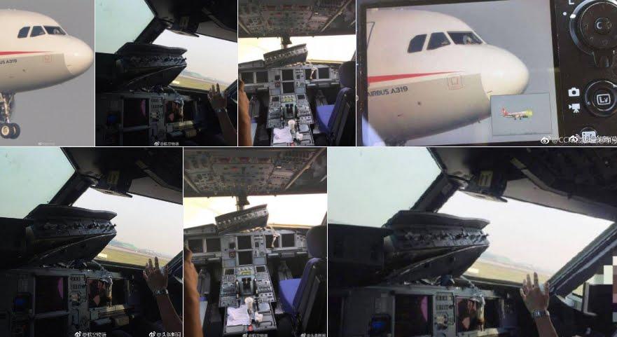 Incredibile: si rompe finestrino durante volo aereo Cina-Tibet