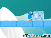 Here is a Winter #PhysicsGame by #Heroik dubbed Ice Cube Bear! #WinterGames
