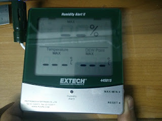 Darmatek Jual Extech 445814 Hygro-Thermometer Humidity Alert with Dew Point