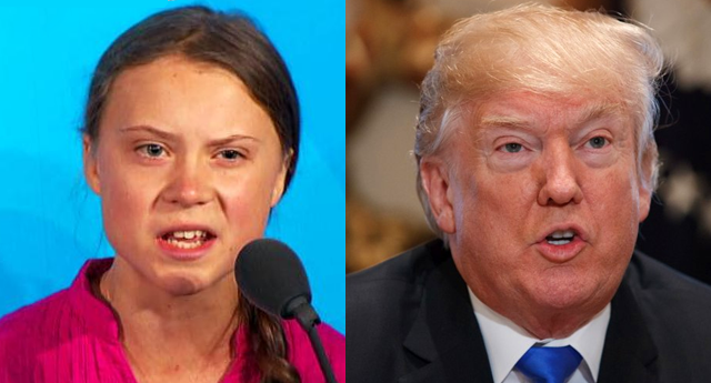 La joven activista Greta Thunberg responde a Donald Trump