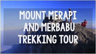 merapi and merbabu tour