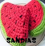http://patronesamigurumis.blogspot.com.es/2014/11/patrones-sandias-amigurumi.html