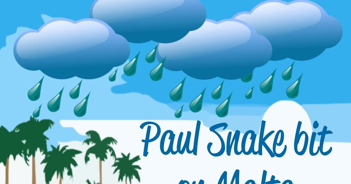 Bible Fun For Kids Paul Is Bitten By A Snake On Malta