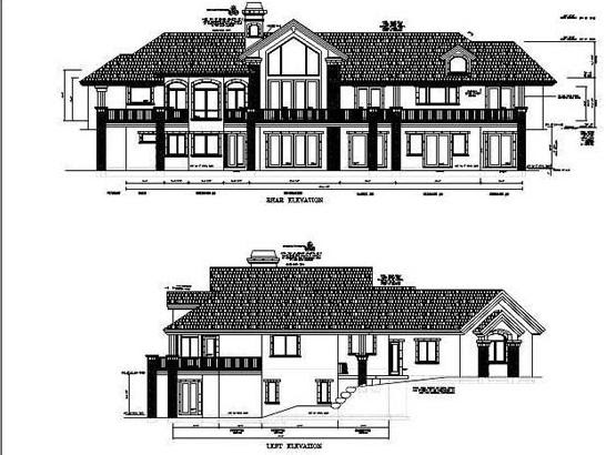 Awesome Home Design With Plans: Autocad Building Plans and