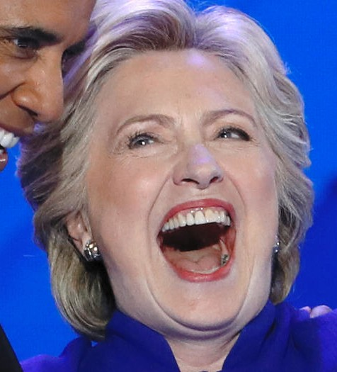 Clinton's black hole in her tongue