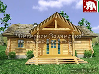 log home house plan