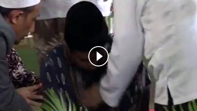 Merinding, Begini Video Detik-detik Malaikat Maut Menjemput Ustadz Ketika Lantunkan Ayat Ketiga Surat Al Mulk