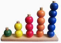 Mainan Edukasi Kayu Counting Ball
