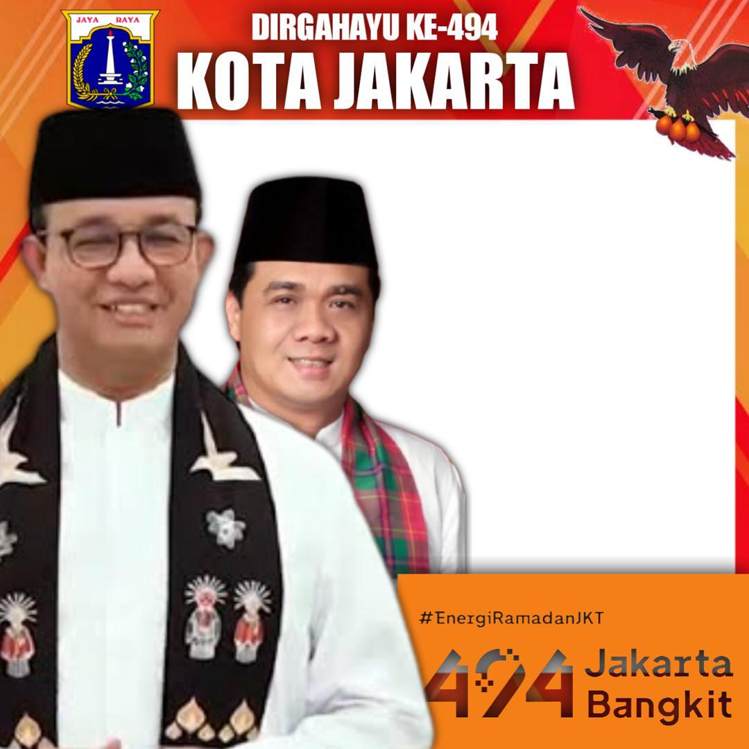 Link Twibbon Dirgahayu DKI Jakarta ke-494 Tahun 2021