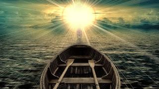 Luz do sol que para mim representa Deus