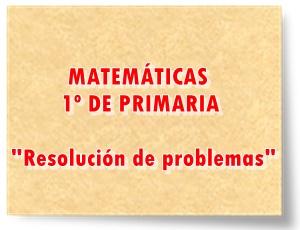 Actividades interactivas y materiales escritos para la resolución de problemas matemáticos en 1º de Educación Primaria