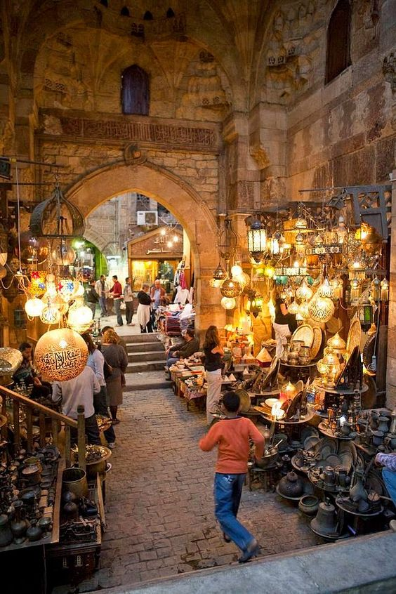 Funds of Funds - Khan el Khalili market in Cairo, Egypt