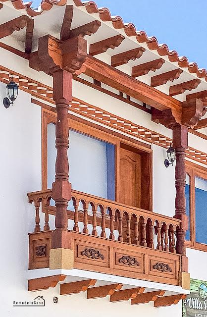 Beautiful balcony - colonial architecture