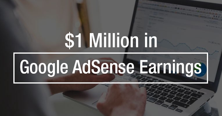 make one million in 5 years with Google AdSense earnings