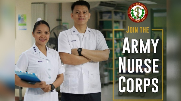 Philippine Army hiring nurses with starting salary at P43,000 plus benefits