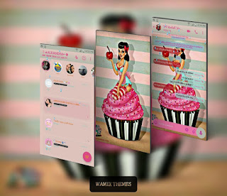 Cupcake Theme For YOWhatsApp & Fouad WhatsApp By Leidiane