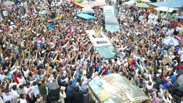 Prabowo Disambut Lautan Massa, BPN: Kemenangan di Depan Mata