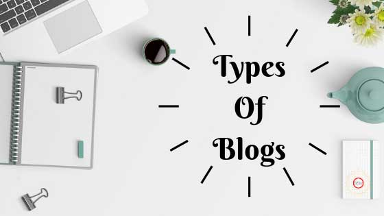 types of blogs, categories of blogs