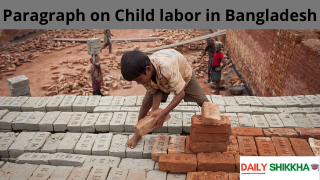 paragraph on Child labor in Bangladesh