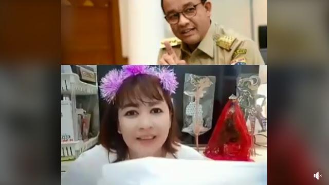 Ceramah Dewi Tanjung Nasehati Anies Baswedan