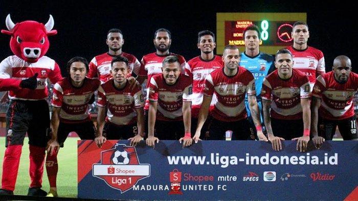 Jadwal Skuad Madura United 2020