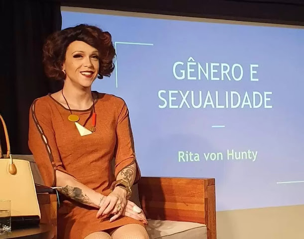 Créditos da foto do Instagram @rita_von_hunty