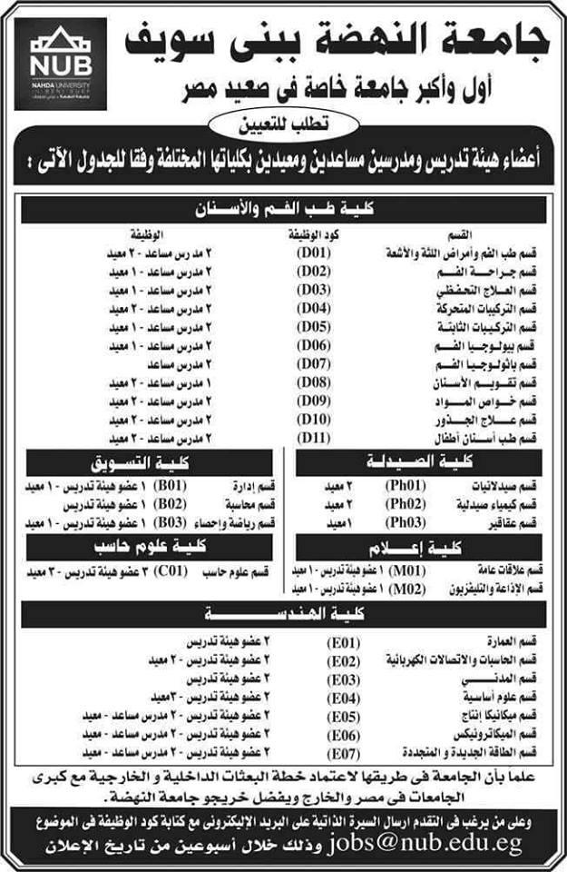 رواتب المعيدين 2020 في مصر