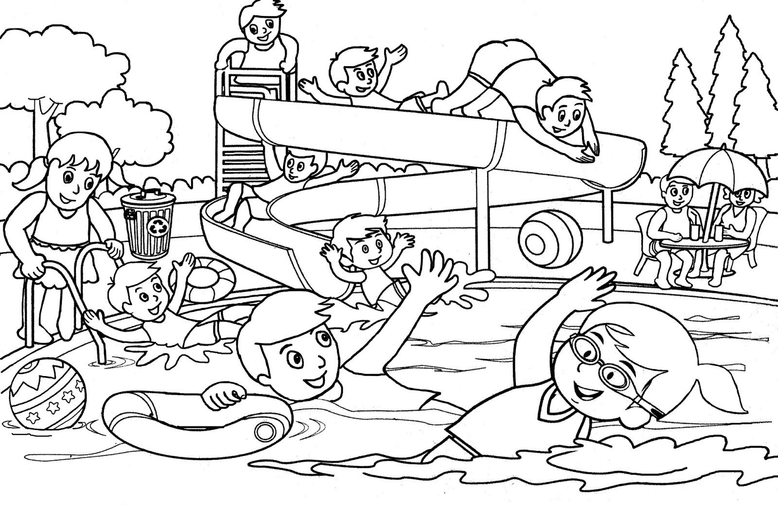 Lebih Dari 100 Gambar Mewarnai Kartun Islami Anak Gambarcoloring