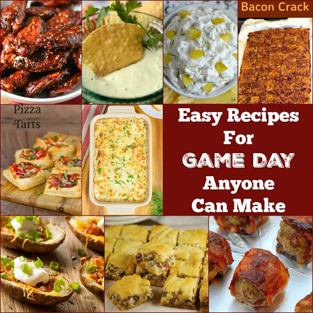 9 Easy Game Day Recipes!