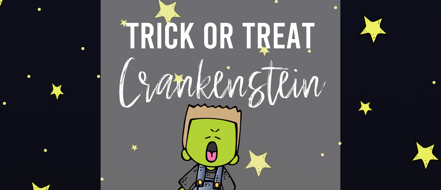 Trick or Treat Crankenstein book activities unit with Common Core aligned literacy companion activities, class book, and craftivity for Kindergarten and First Grade