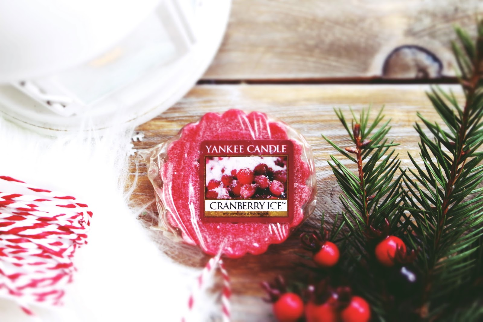 Yankee Candle ➤ Cranberry Ice