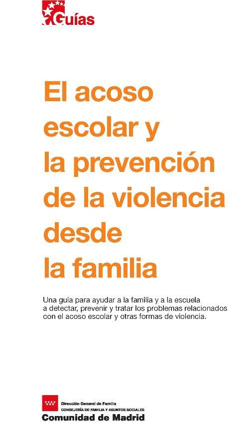 El acoso escolar y la prevención de la violencia desde la familia