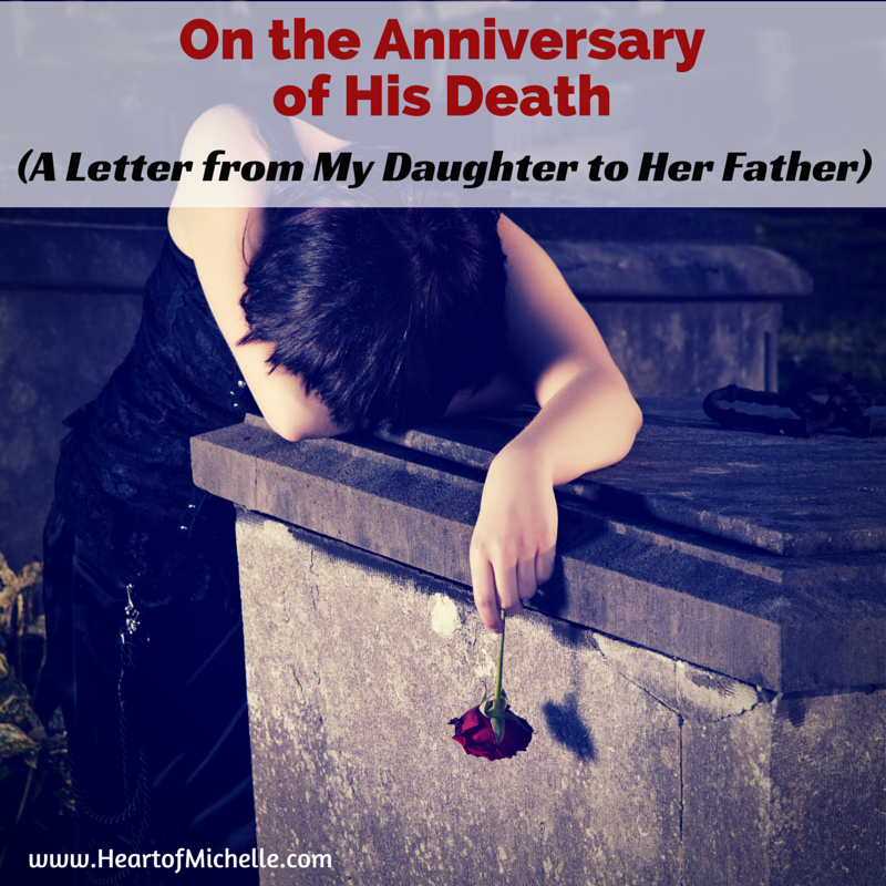Letter to dad who died of suicide