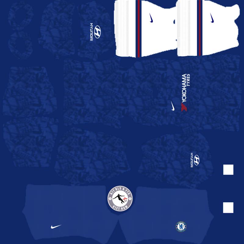 Kits Chelsea Football Club 2019 - 2020 Dream League Soccer 2021